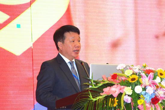 中国文化和旅游部国际交流合作局巡视员陈诤致辞