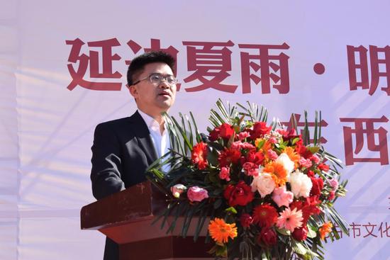 延边州委常委、副州长娄国闻致辞