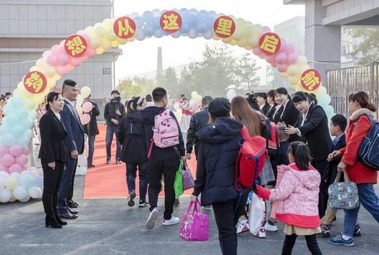 延吉市进学小学新校区10月21日正式开课