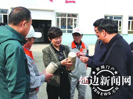 康芳到汪清县调研项目建设和脱贫攻坚工作