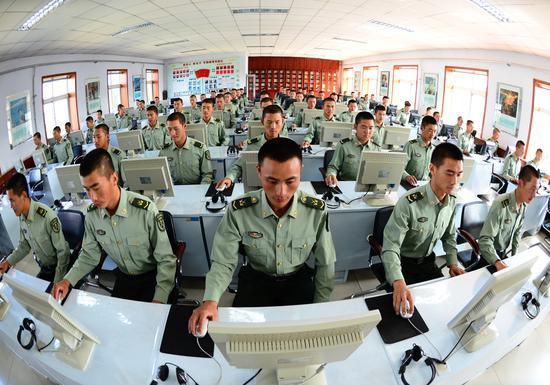 长春市在驻军部队建立全军首个军营数字化学习中心。