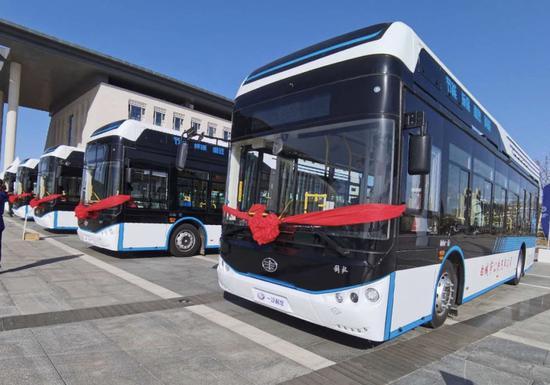 氢燃料公交车