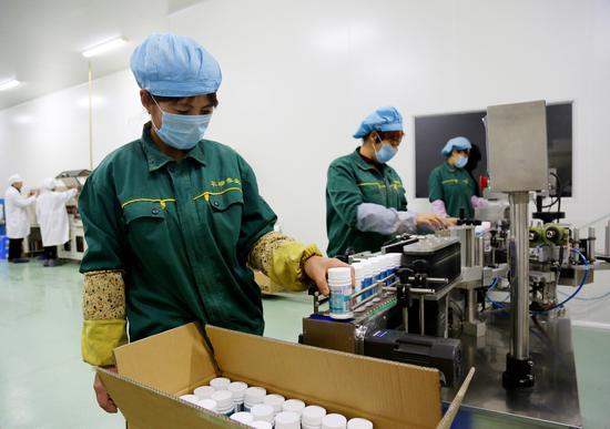 珲春华瑞参业产品走进国际市场
