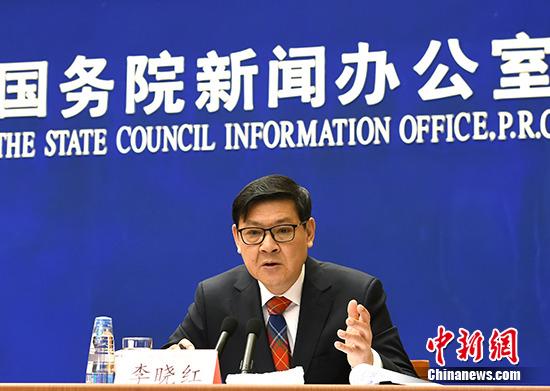 资料图:李晓红。 中新社记者 张勤 摄
