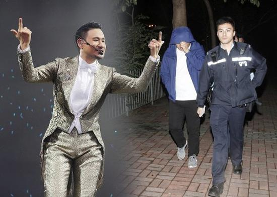 男子协助警方调查