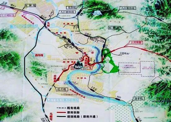 图片由吉珲铁路吉林枢纽西环线工程指挥部提供