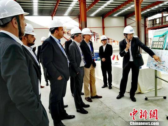 德国亚洲经济圈协会成员在中国考察。 孙忠一 摄