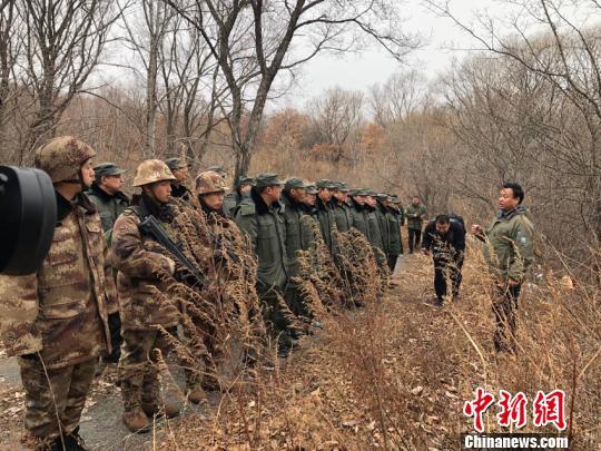 东北虎豹国家公园成立以来,首次集中开展大规模反盗猎行动。 郭佳 摄