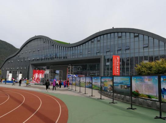 江心岛公园全民健身中心