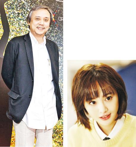 陈嘉上跟内地女演员郑爽(右图)曾合作,没想到无辜惹上是非