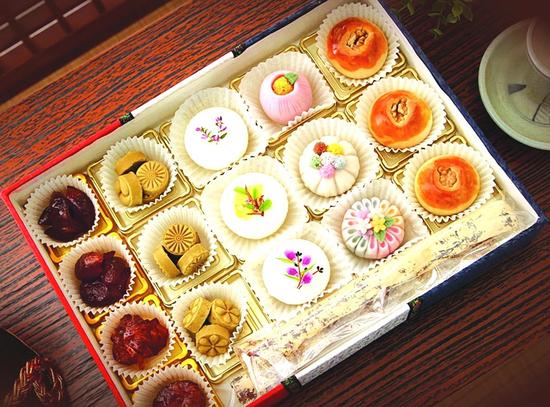 宫廷米糕综合礼盒延吉市李香丹宫廷米糕研究所