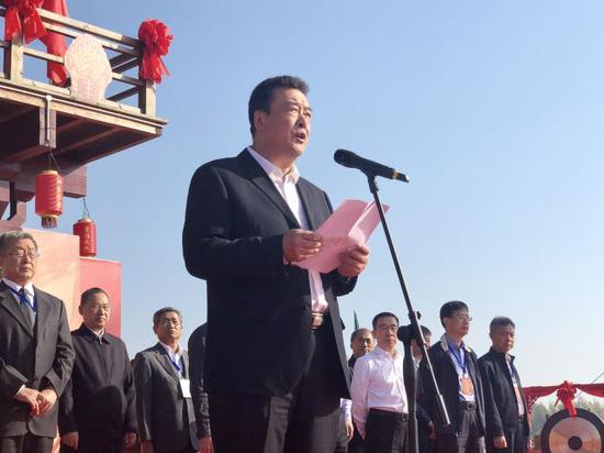 吉林省农业委员会主任、党组书记于强致辞