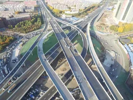 长春市两横三纵东部快速路生态大街段