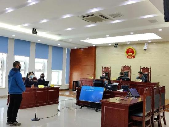 图片由长春市中级人民法院法院提供