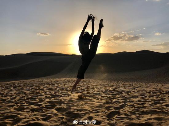 在成为演员前,刘浩存曾学了十年的舞蹈。