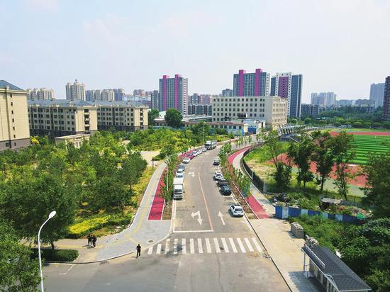 宽城区棚改配套道路——丙二十一路开放交通,可以满足周边居民出行需求。
