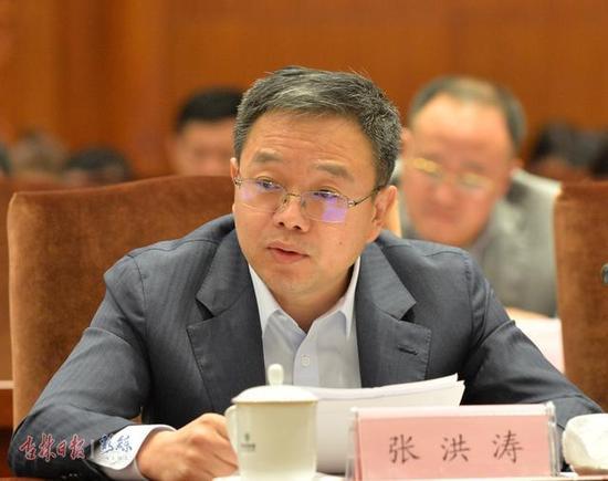 长白山传奇文化有限公司董事长 张洪涛