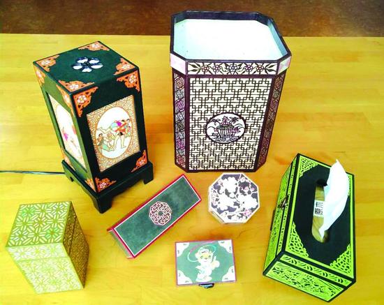 朝鲜族传统纸工艺系列 张东花