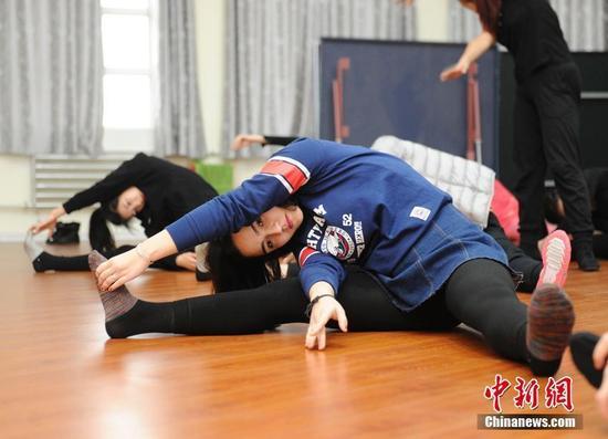 东北三省21名佳丽在长春训练 竞逐冰雪天使