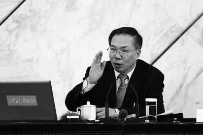 王国庆在发布会上回答记者提问 新华社发