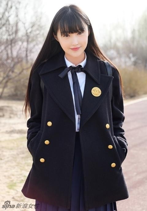 内地最美少女模特林柯彤春日写真 颜值逆天