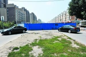 在武汉路与沿河路交会处,车辆开到这里需要调头开走。