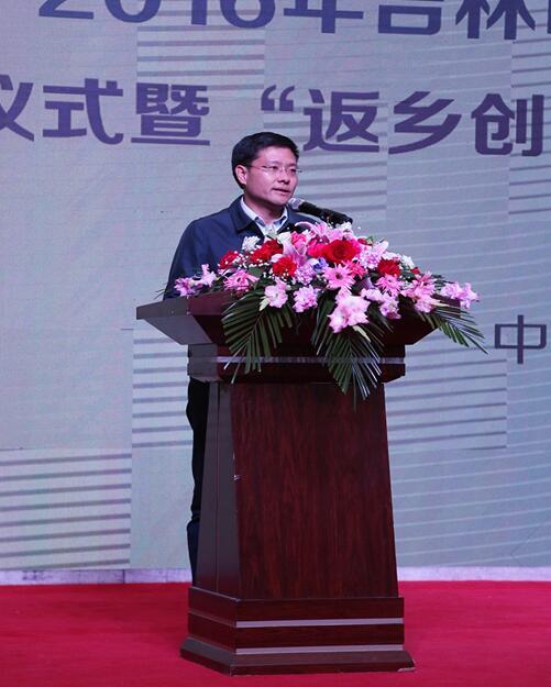 市委常委、副市长 陈胜:振兴吉林需多引入外来人才
