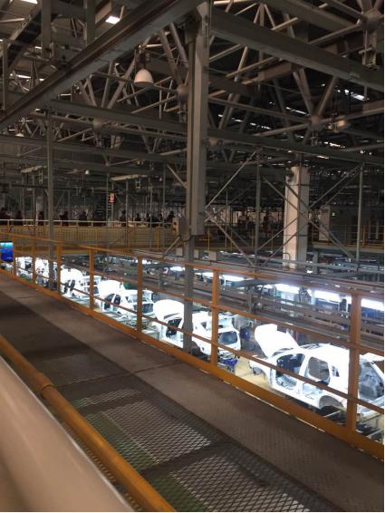 奔腾X40的生产线