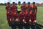 全国青少年男足U-13联赛 亚泰梯队五战全胜小组第一