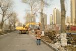 长春世纪广场旁封闭施工 原来是要打造小型公园