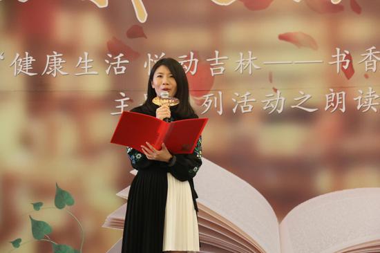 苏芩老师现场分享红楼梦里的诗词