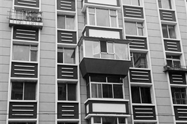 4楼建的外保温阳台