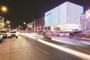 长影音乐厅亮化工程。