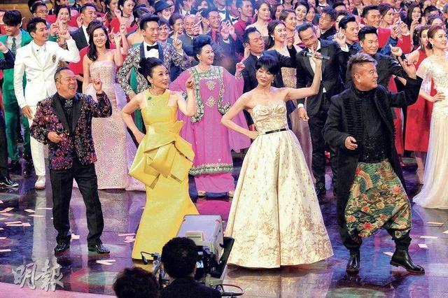 TVB女星性感贺台庆 为无线50周年台庆揭开序幕