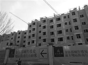 金钰蓉城小区楼盘。 刘连宇 摄