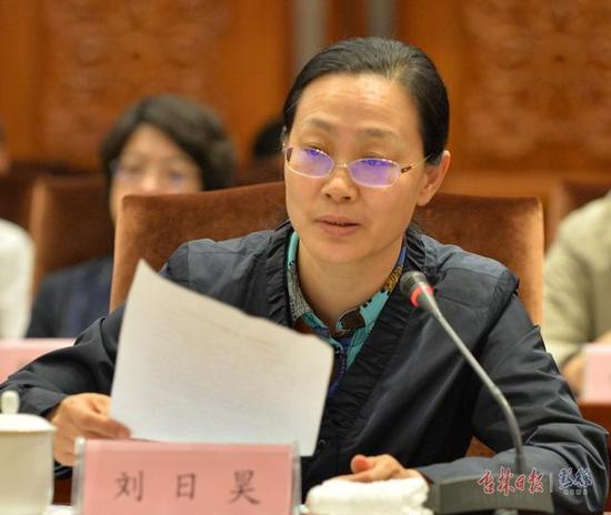 吉林省发展改革委副主任 刘日昊