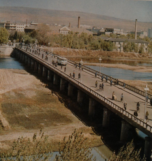 70年代的延吉大桥