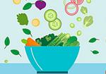 减肥只吃素好吗?
