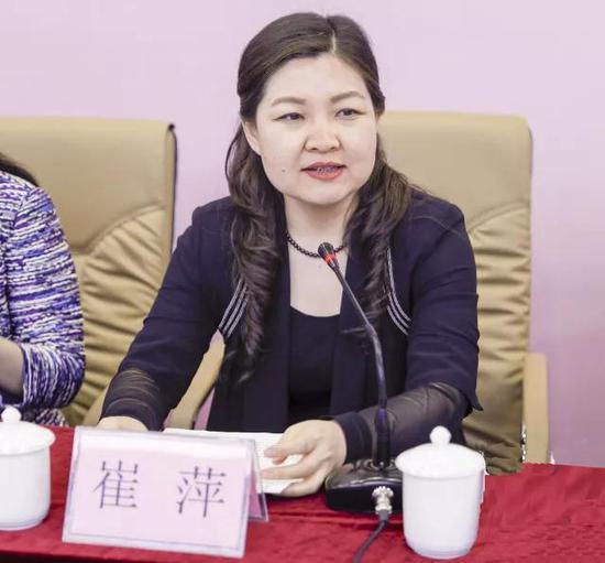省网信办主任、省互联网业联合会会长兼党委书记崔萍同志到会致辞