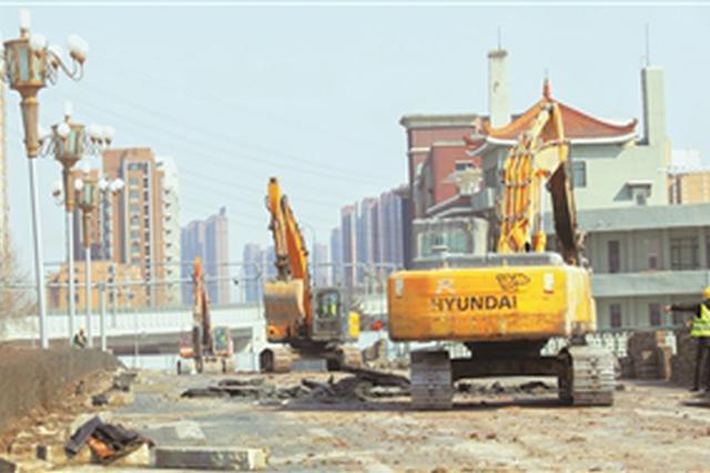 长春东大桥正式启动拆除改建工程 计划4月末拆除完成