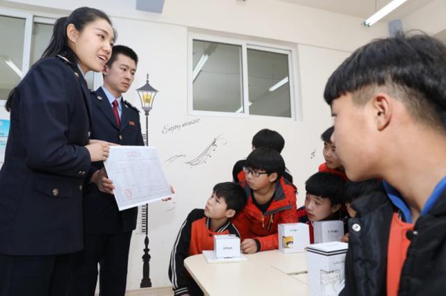 吉林省地税直属局走进省孤儿学校开展税收宣传活动