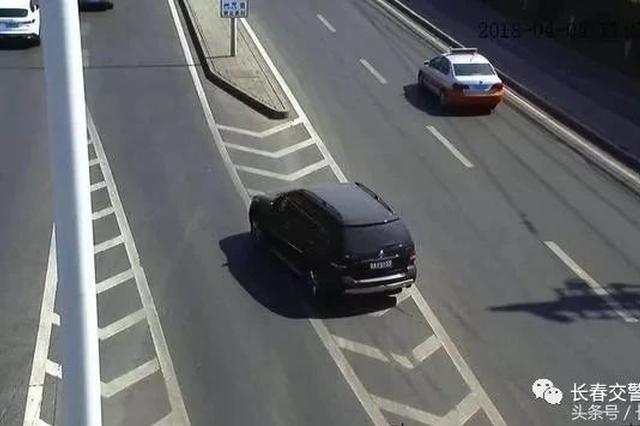 长春交警曝光20起交通违法行为摄录 快看有没有你!
