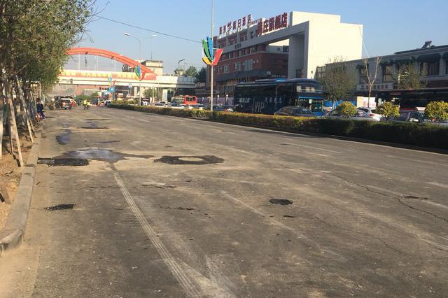 5月9日晚开始吉林大路部分路段封闭施工 请注意绕行