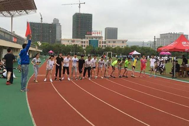 长春市中心城区中考体育现场考试结束