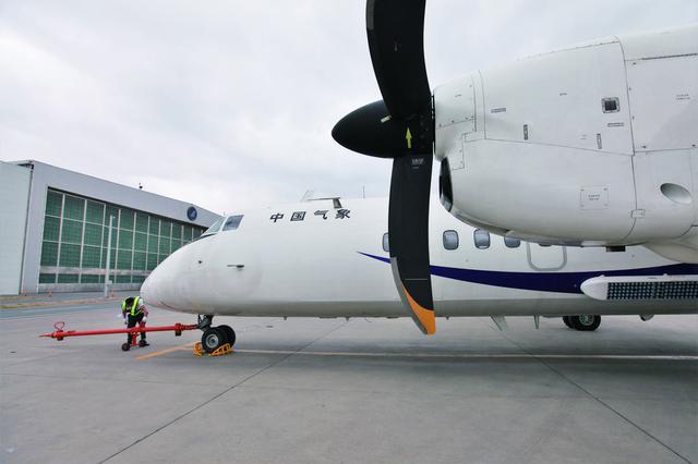 吉林省气象部门使用增雨飞机为春耕创造条件