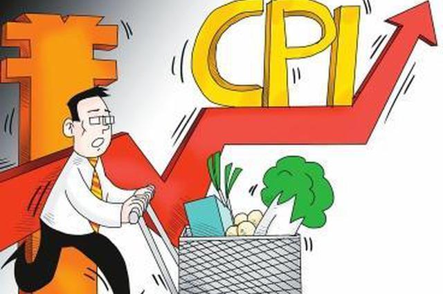 4月份长春市CPI总水平同比上涨0.9%