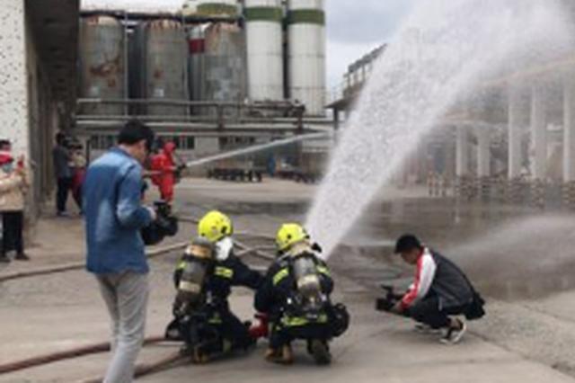 长春市举行特种设备安全事故大演练
