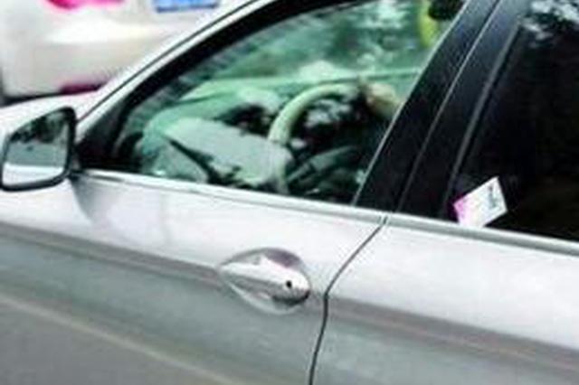 团伙在车展停车场散发招聘卡片被刑拘 专挑高档车