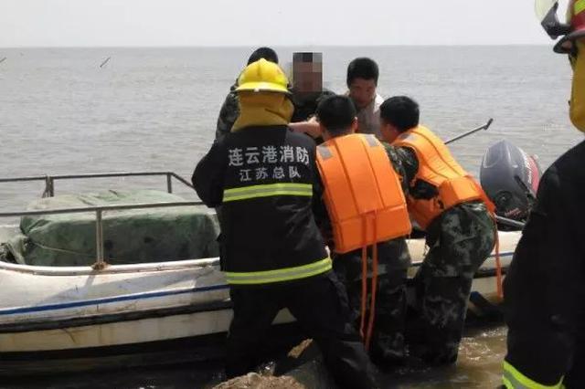 """吉林男子跳海被民警救出 感动称""""其实我是个逃犯"""""""