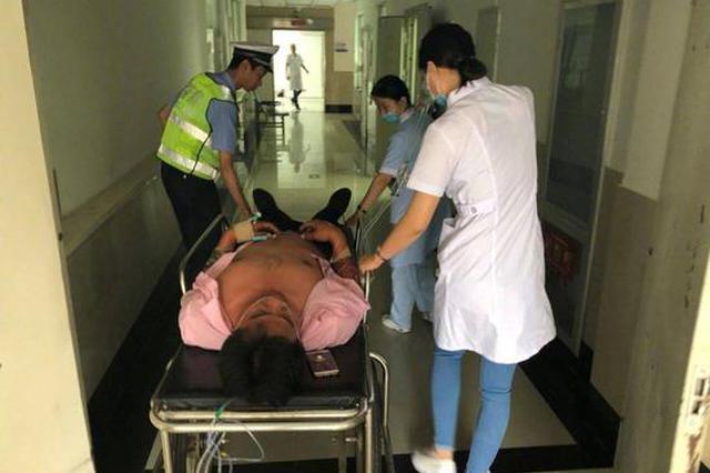 松原司机被马蜂蜇后坚持开了6公里 向民警求助后昏迷